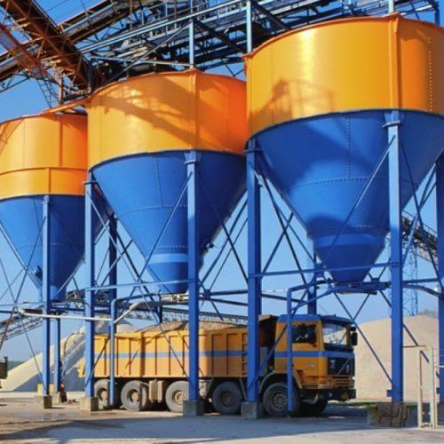 Бункерные весы для зерна