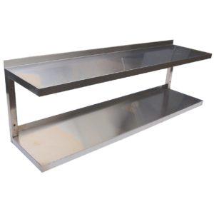 Полка кухонная навесная 2-х уровневая
