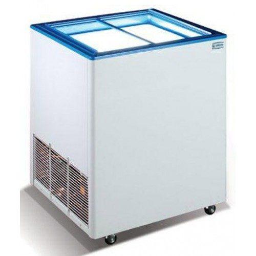 Морозильный ларь Эктор 16 SGL (2 корзины) прямое стекло